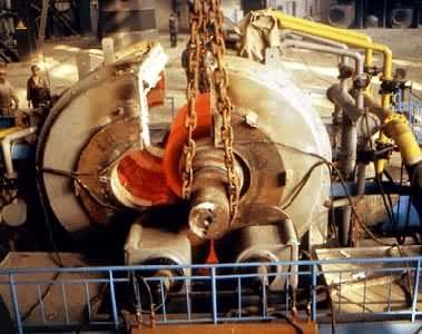 ①超高频感应加热热处理所用的电流频率高达27兆赫