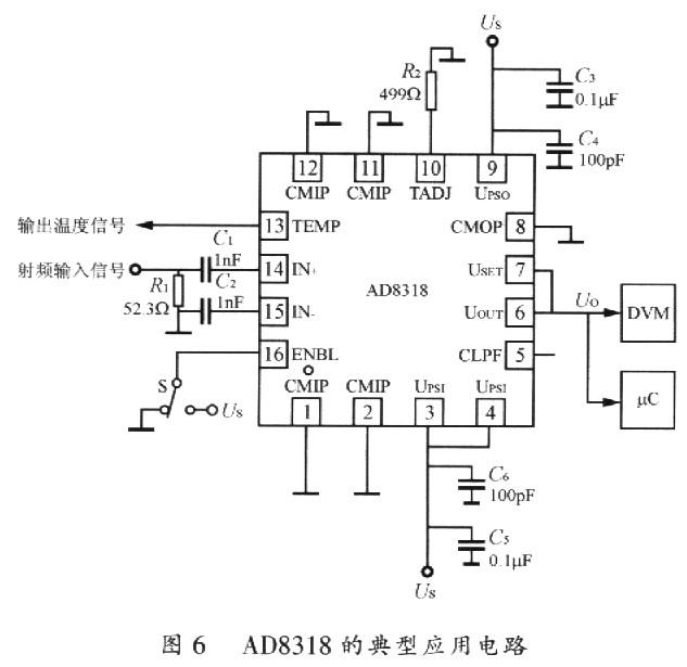 ad8318的典型应用电路